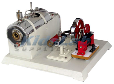 Steam Engine with Dynamo (Electric), Kids Lab Supplies